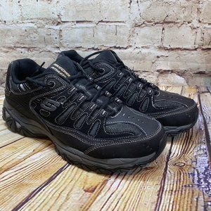 Skechers Mens Black Athlectic Sneakers Size 1